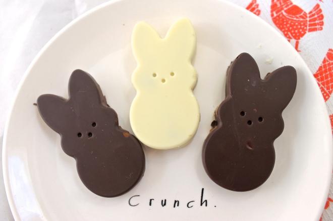 Peanut butter bunnies crunch