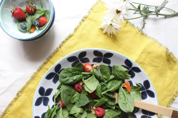 veggie spring salad