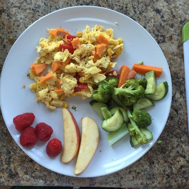 Egg dinner