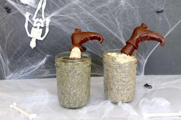 Melting Chia Seed Witch   Popcorn & Chocolate