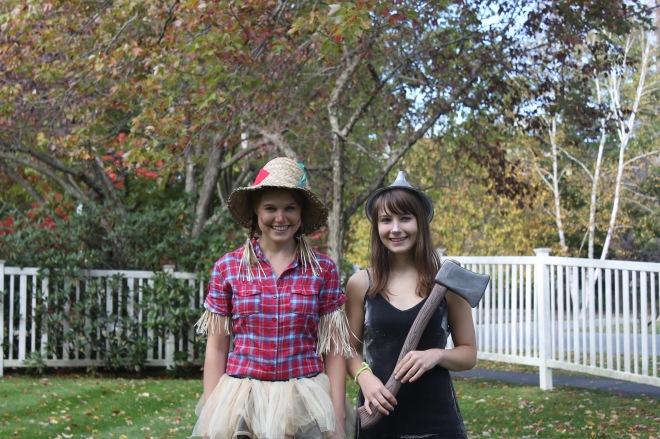 DIY Scarecrow & Tin Man Halloween Costumes | Popcorn & Chocolate