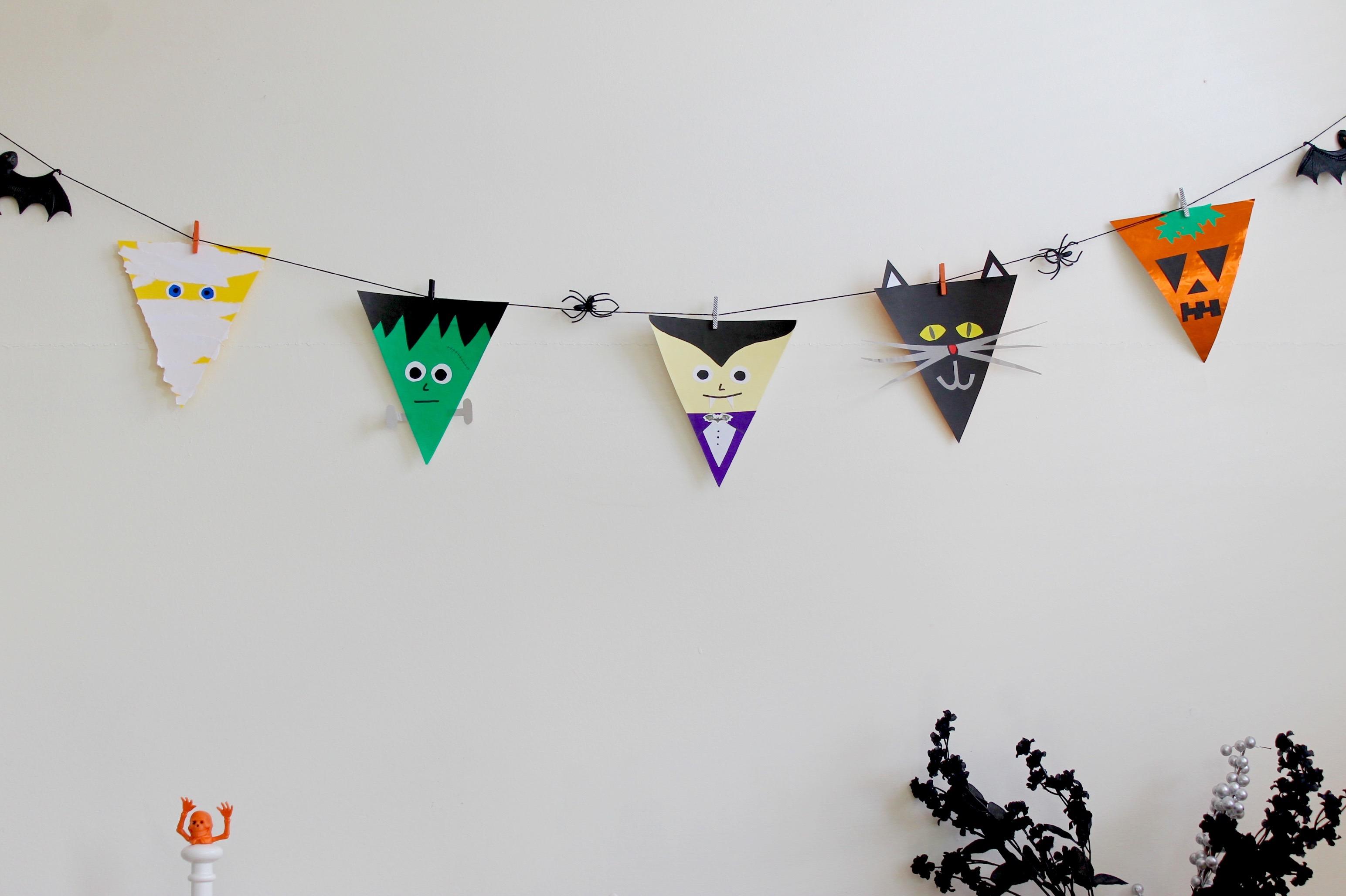 Halloween Bunting halloween bunting play resourceplay resource Halloween Bunting Flags Popcorn Chocolate