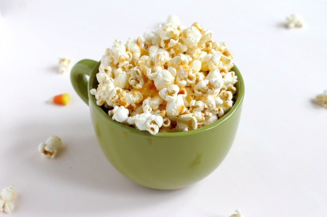 Candy Corn Popcorn | Popcorn & Chocolate