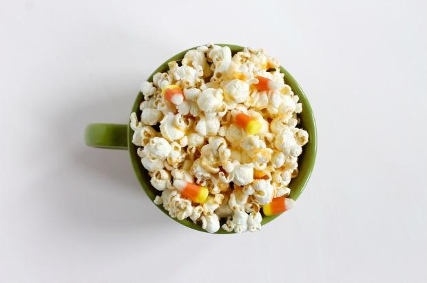 Candy Corn Popcorn | Popcorn & Chocolate