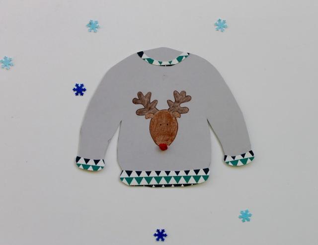 Ugly Christmas Sweater Garland