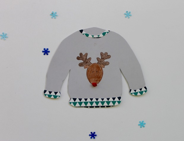 Ugly Christmas Sweater Garland