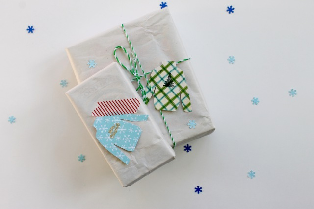Ugly Christmas sweater gift tags