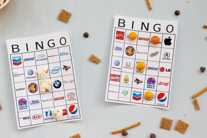 Download your Bingo boards here: Super Bowl 50 bingo boards