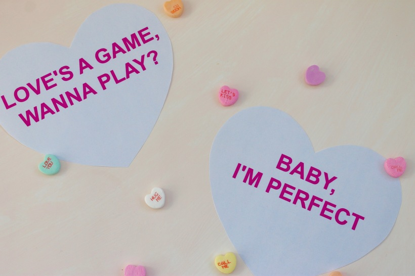 Free Printable Valentines Lyrical Hearts | Popcorn & Chocolate
