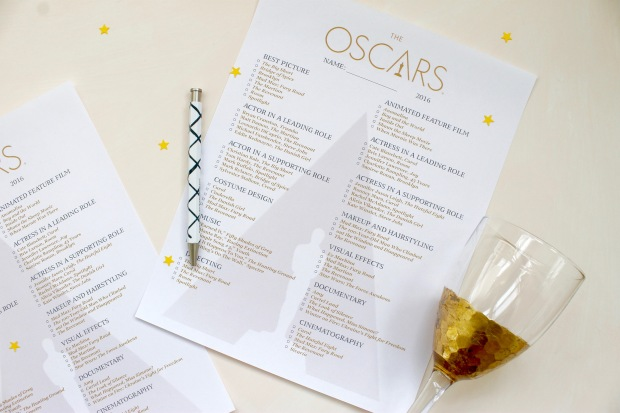 2016 Oscars | Popcorn & Chocolate
