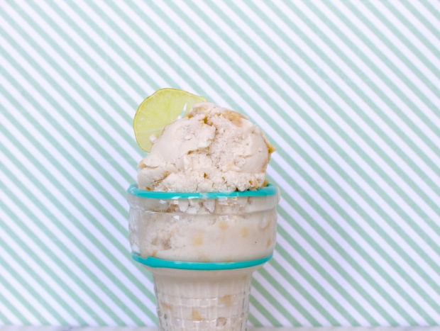 Coconut Milk Key Lime Ice Cream | Popcorn & Chocolate
