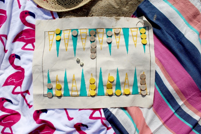 Travel Nautical Backgammon | Popcorn & Chocolate