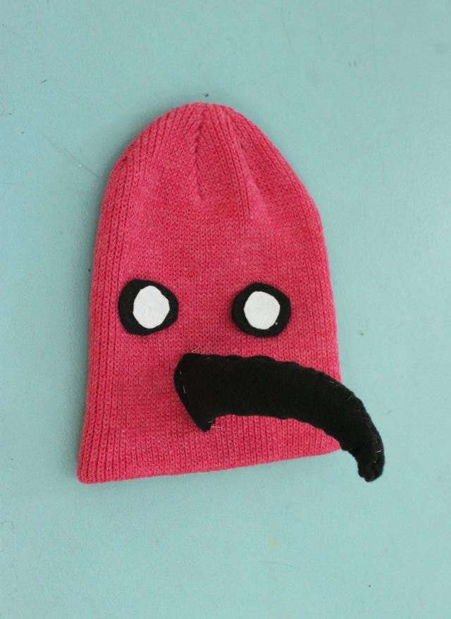 DIY flamingo hat costume | Popcorn & Chocolate