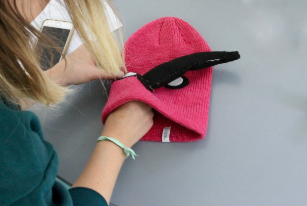 Sewing DIY bird hat | Popcorn & Chocolate