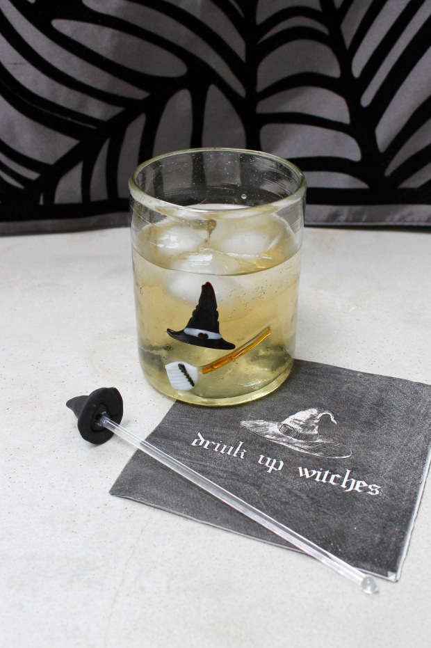Witch Hat Sculpey Drink Stir | Popcorn & Chocolate