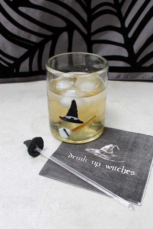 Witch Hat Sculpey Drink Stir | Popcorn & Chocolate