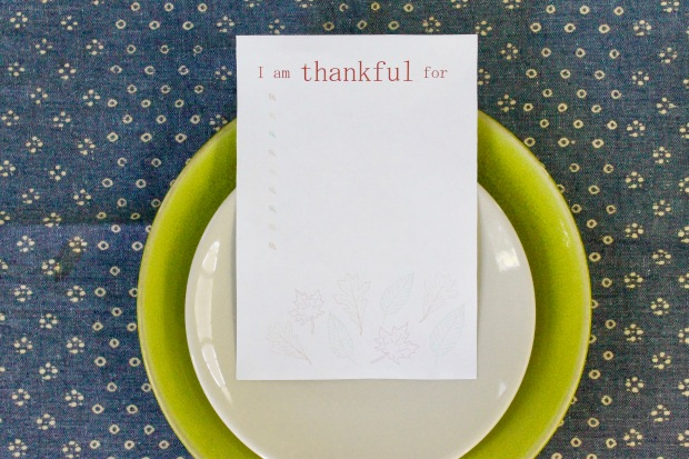 thanksgiving table decorations | Popcorn & Chocolate