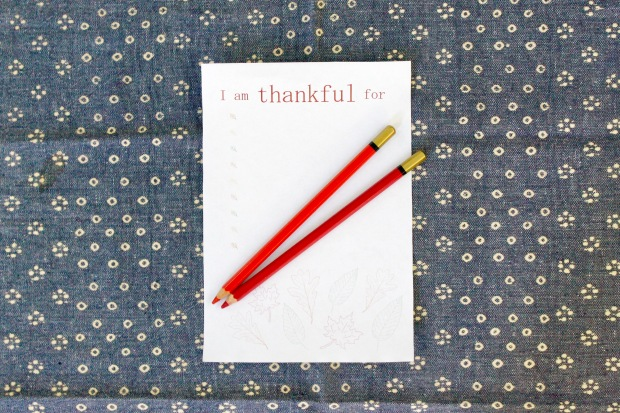 fall thankful printable | Popcorn & Chocolate