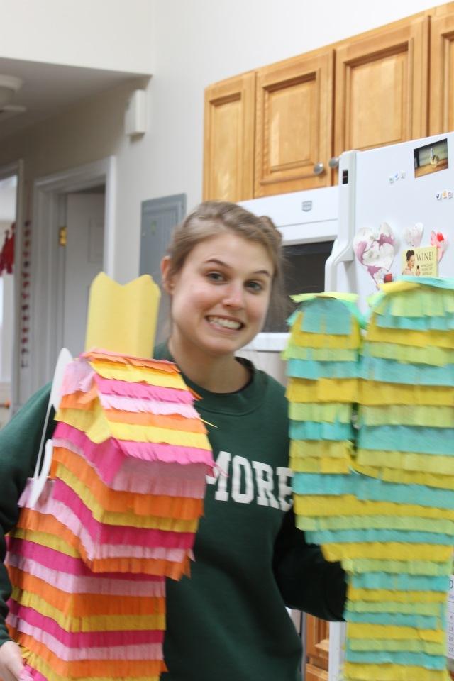 Piñata behind the scenes