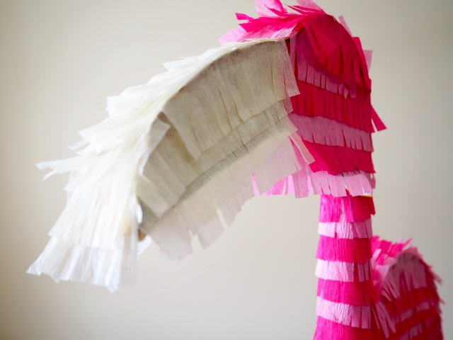 DIY Flamingo Piñata | Popcorn and Chocolate
